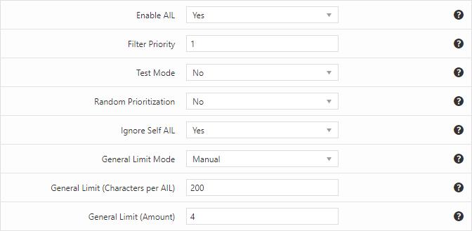 Fixed autolink limit per post