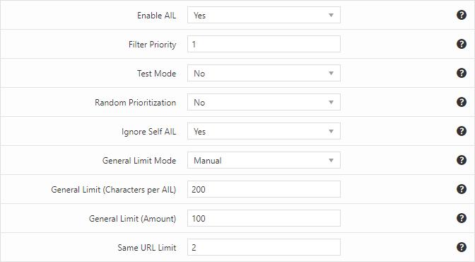 Same URL limit applied