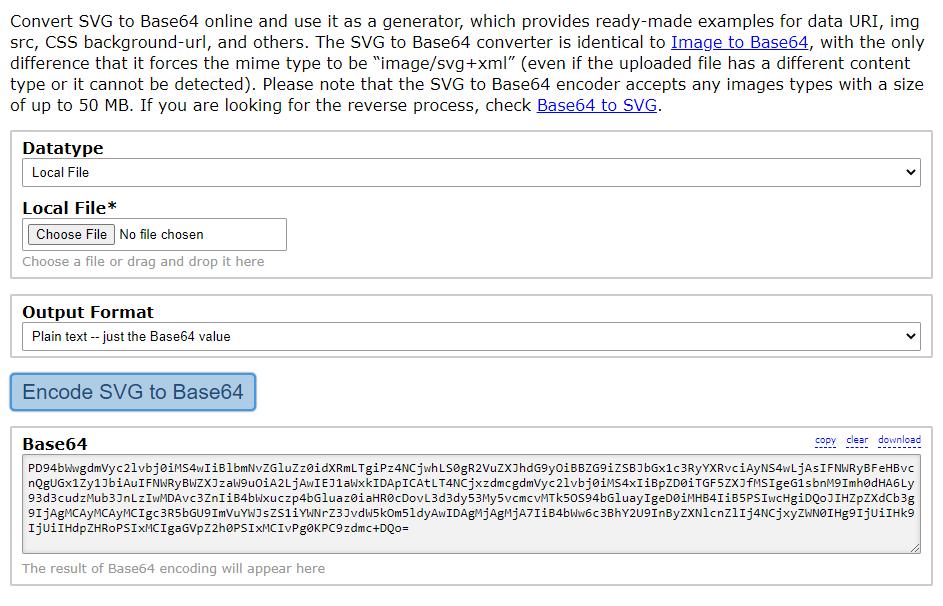 Base64 data generated by the Base64.Guru website