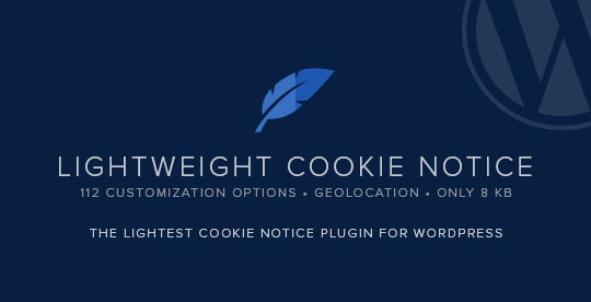 Lightweight Cookie Notice